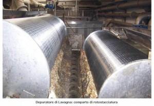 Depuratore di Lavagna - comparto di rotostracciatura