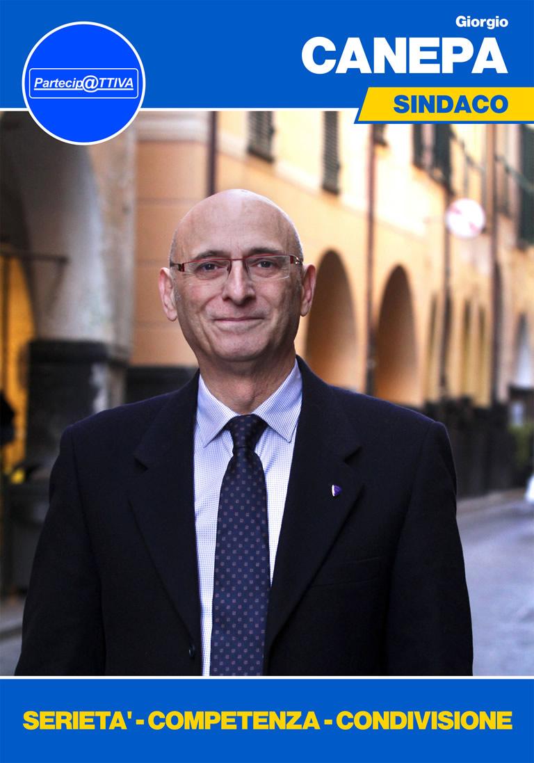 Giorgio Canepa candidato sindaco elezioni amministrative Chiavari 2017