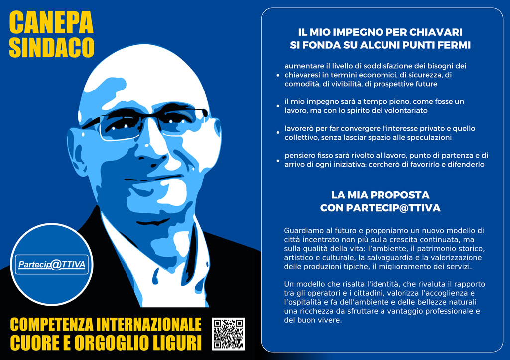 Giorgio Canepa Sindaco Elezioni Chiavari 2017