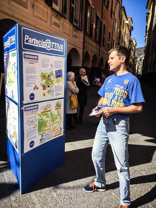 PartecipATTIVA elezioni chiavari 2017 - banchetti